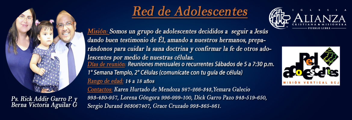 red adolescente web